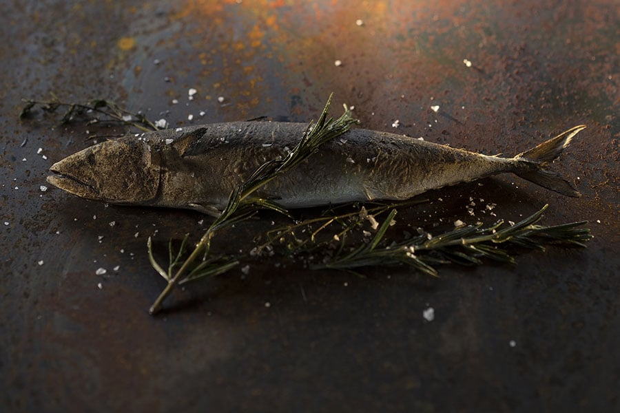 Barbecue mediterrane zeebaars met rozemarijn van Walter Smoked!