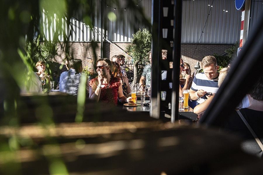Walter Smoked tijdens een walking dinner in Lichtenvoorde